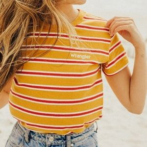 Wrangler For Urban Outfitters Striped Tee